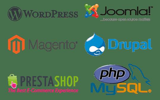 Produzione siti in cms o codice php
